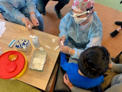 Vítkovická nemocnice plošně otestovala děti i personál 17 dětských domovů