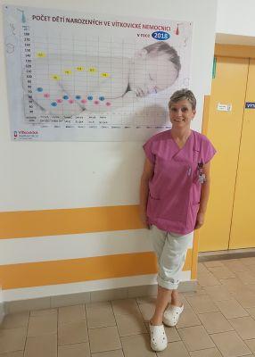 Ve Vítkovické nemocnici v Ostravě přišlo v prvním pololetí na svět 718 dětí