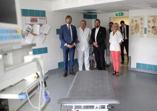 Vítkovickou nemocnici v Ostravě navštívil ministr zdravotnictví
