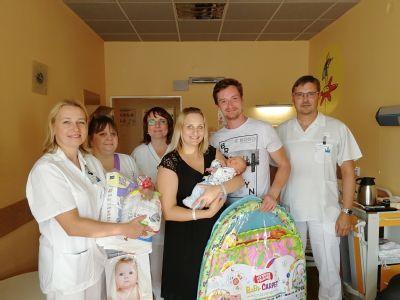 Tisící miminko narozené letos ve Vítkovické nemocnici se jmenuje Zlatan