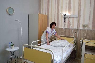 Nadstandardní pokoj i novou jídelnu otevřeli na oddělení léčebné rehabilitace Vítkovické nemocnice