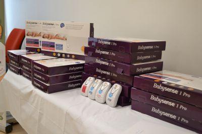 Vítkovická nemocnice obdržela dalších 20 monitorů dechu