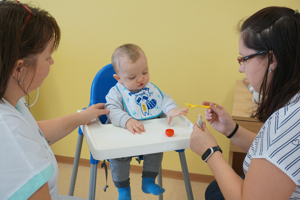 Nová edukační poradna Vítkovické nemocnice jako jediná v kraji zodpoví otázky stravování dětí