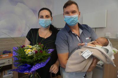 Tisící miminko narozené v Nemocnici AGEL Ostrava-Vítkovice se jmenuje Tobiáš