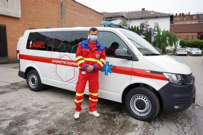 Za vybranou péčí přepraví pacienty sanitní vozy Nemocnice AGEL Ostrava-Vítkovice