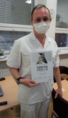 Iktové centrum Nemocnice AGEL Ostrava-Vítkovice získalo mezinárodní ocenění za léčbu cévních mozkových příhod