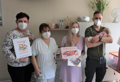 S knížkou do života přicházejí nyní na svět novorozenci v Nemocnici AGEL Ostrava-Vítkovice